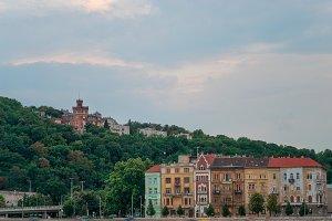 Gellert Hill in Budapest Hungary