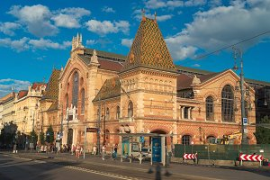 Great Hall Market in Budapest Hungary