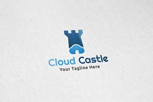 Cloud Castle - Logo Template