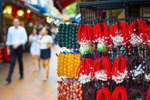 Chinatown souvenir market. Singapore