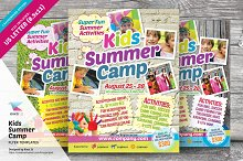 kids activities flyer