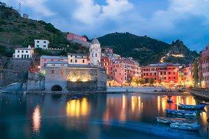 Beautiful Italian Town of Vernazza