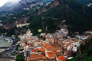City of Positano in Italy