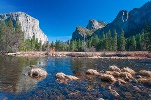Amazing National Park in California, Yosemite