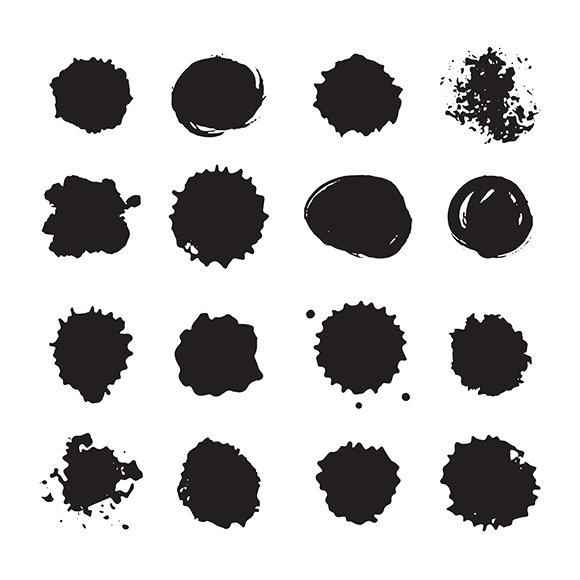 Ink Dots Drops Set