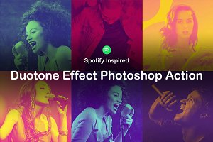 Duotone Effect Photoshop Action