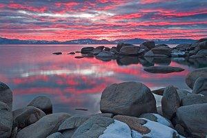 Beautiful Lake Tahoe California