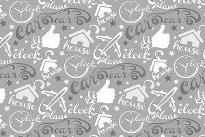 web seamless pattern