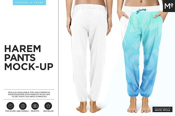 Harem Pants Mock-up