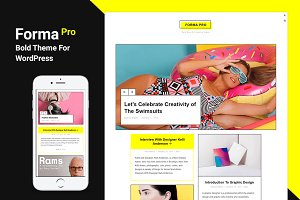 Forma Pro - Bold Theme For WordPress