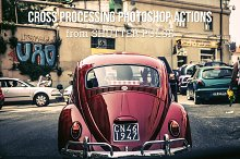 Cross Processing Photoshop Actions
