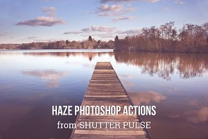 Haze Photoshop Actions