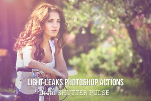 Light Leak Photoshop Actions