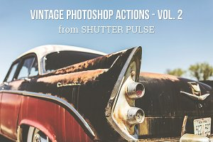Vintage Photoshop Actions - Vol. 2