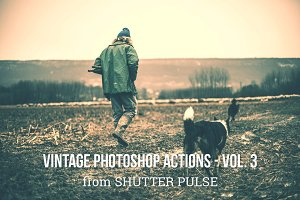 Vintage Photoshop Actions - Vol. 3