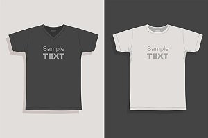 Men s t-shirt design template
