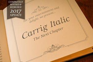 Carrig Italic—2 Elegant Serif Fonts
