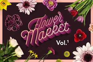 Flower Market Vol.1