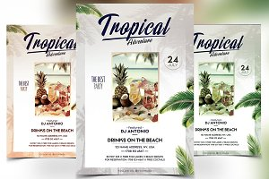 Tropical Adventure - PSD Flyer