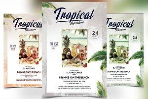 Tropical Adventure - PSD Flyer