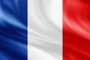 France flag background