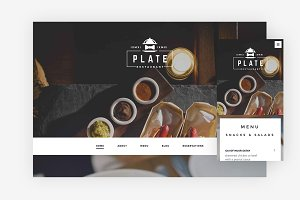 Plate WordPress Theme