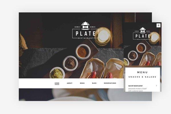 Plate WordPress Theme