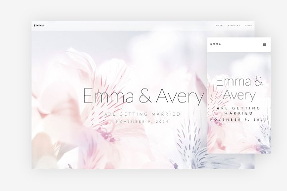 Emma WordPress Theme