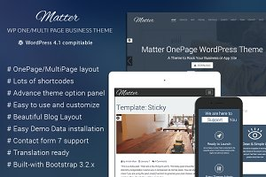 Matter - WordPress Business Theme