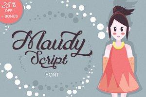 Maudy Script + Bonus