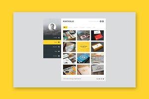 vCard - Resume / CV HTML