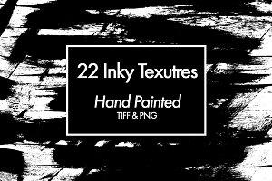 22 Original Inky Textures