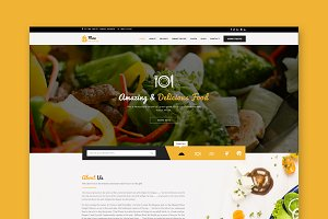Max Recipes - HTML Template