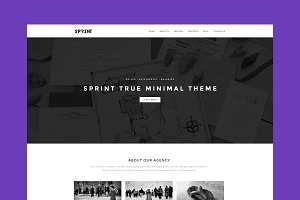 Sprint - Minimal WordPress Theme