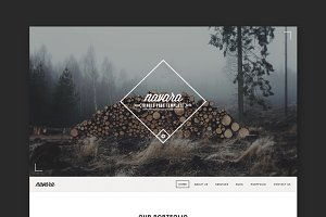 Navara - Single Page WordPress Theme