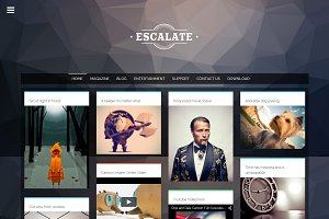 Escalate Creative Blogger Template