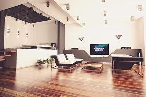 TV Display Mock-up#9