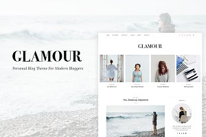 Glamour - A WordPress Blog Theme