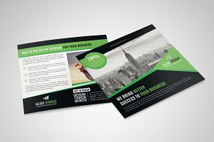 Squire Bi-Fold Brochure Template