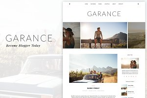 Garance - A WordPress Blog Theme