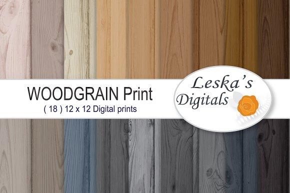 Wood Paper Woodgrain Background