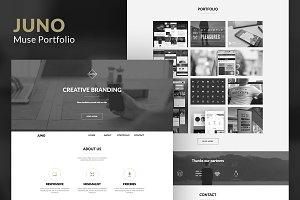 Juno – Minimal Portfolio Muse Theme