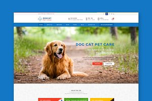 Pet Care - Veterinary WordPres Theme