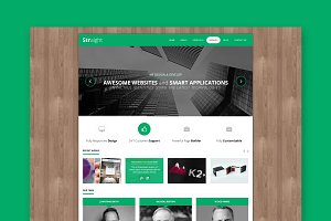 Straight - Minimal WordPress Theme