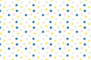 Brush Dots Vector Pattern