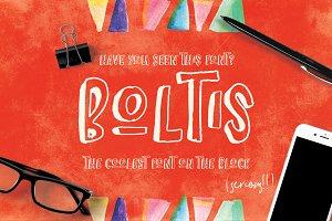 Boltis Font