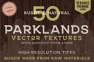50 Rustic Parklands Bitmap Textures