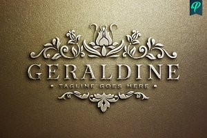 Geraldine - Luxury Feminine Logo