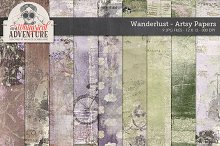 Wanderlust Mixed Media Papers