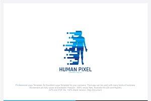 Human Pixel Logo
